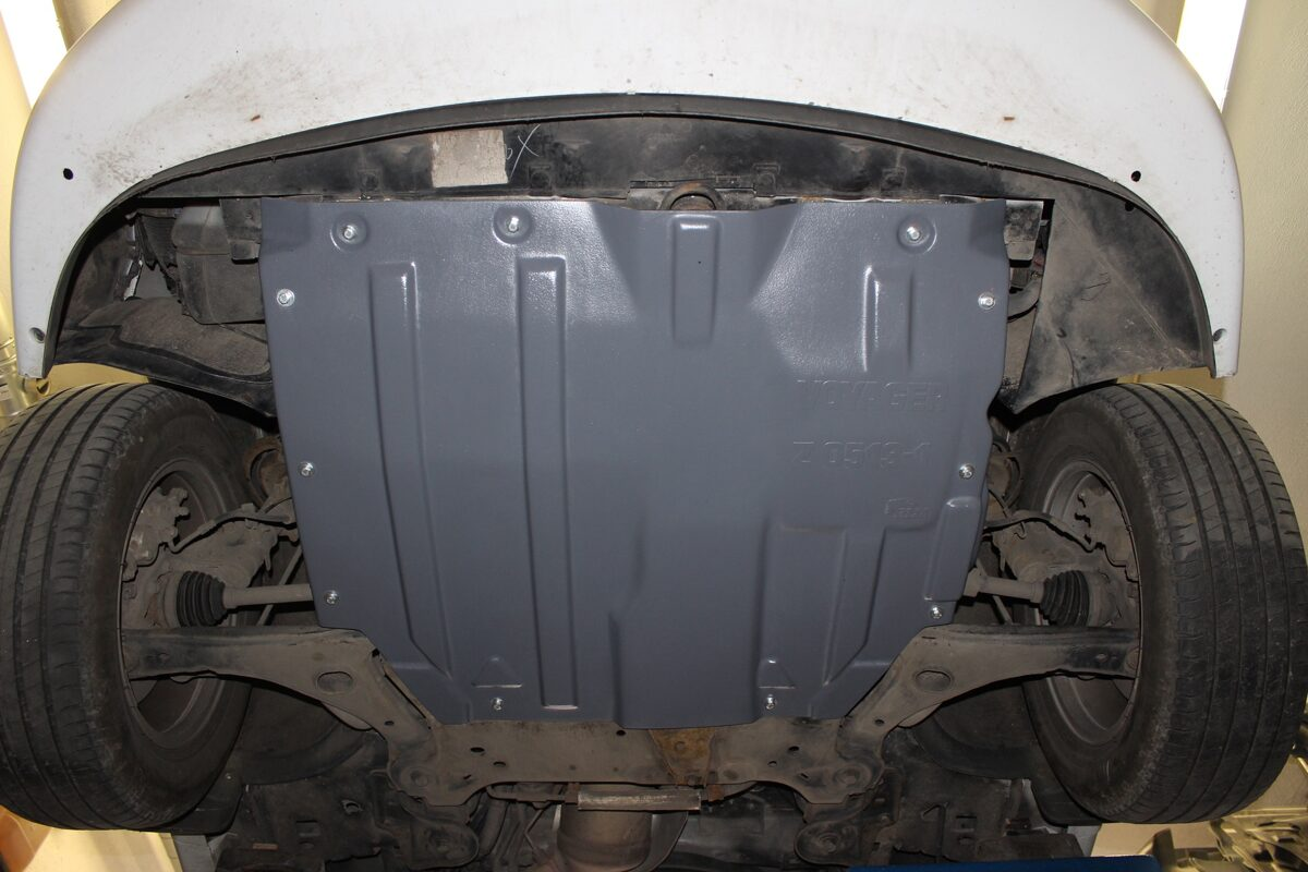 Chrysler Town & Country V ( 2010 - 2016 ) restyle ( 3 parts ) motora aizsargs