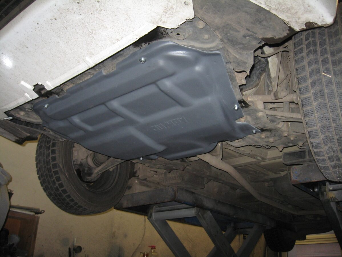 Fiat Scudo II ( 2007 - 2016 ) motora aizsargs