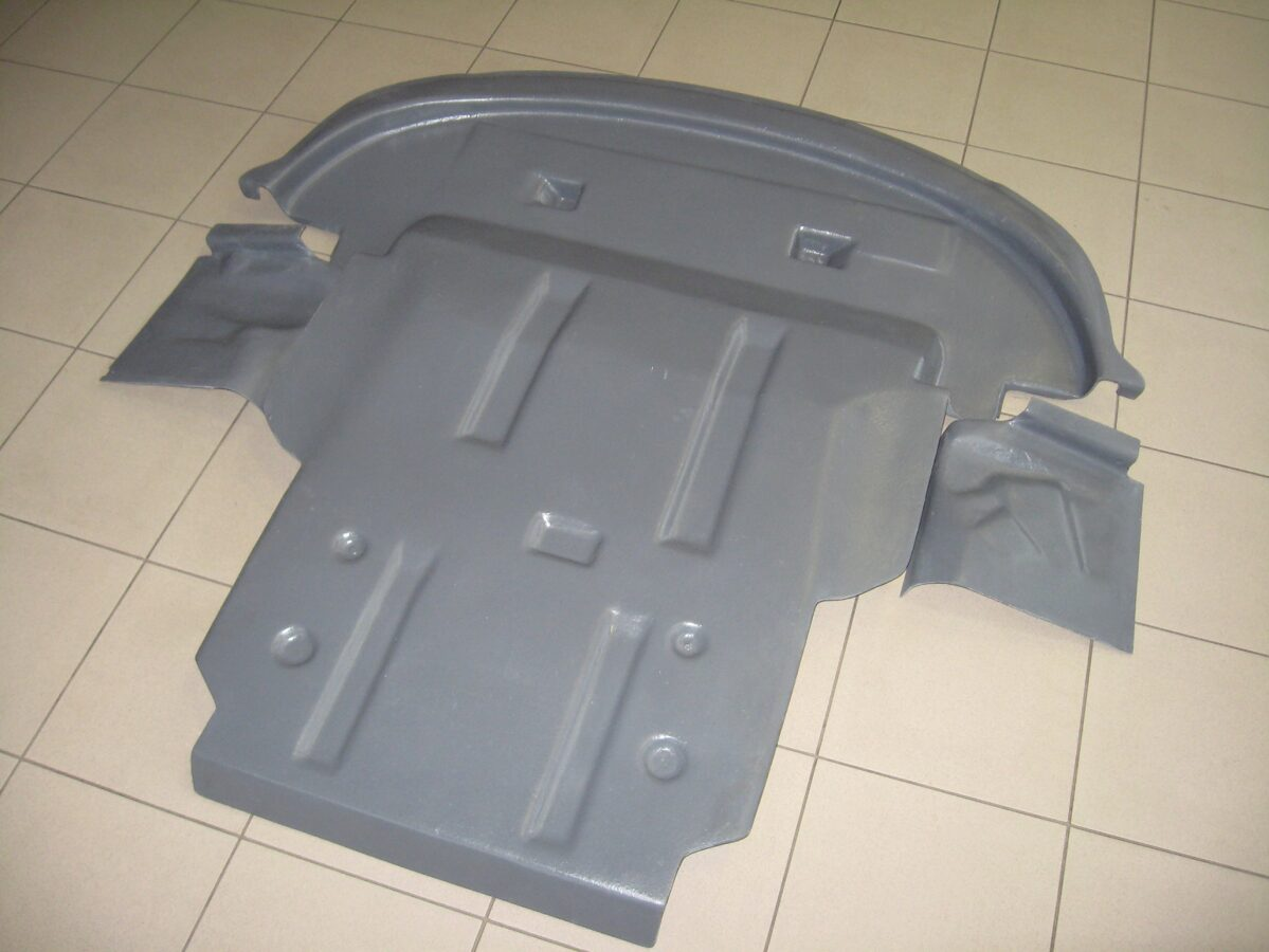 Dodge Journey I ( 2011 - ... ) restyle ( 3 parts ) motora aizsargs