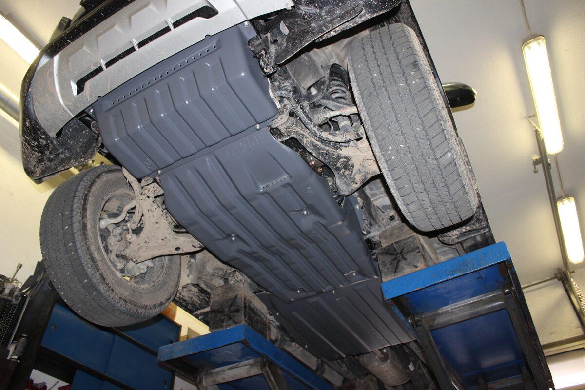 Fiat Fullback I ( 2016 - ... ) ( 3 parts ) motora aizsargs