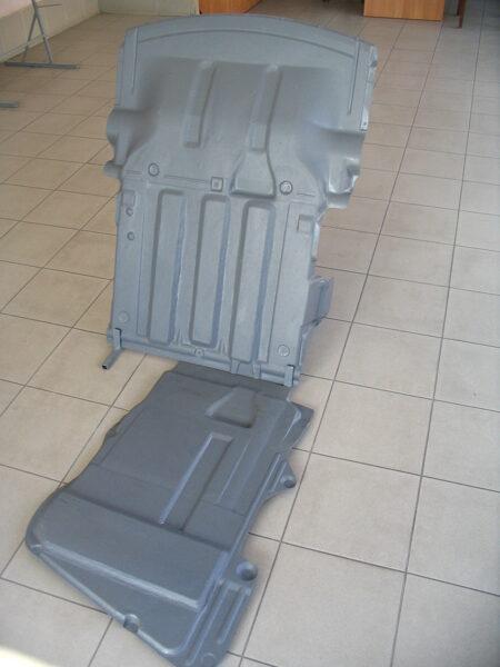 BMW 3 E46 ( 1999 - 2005 ) ( 4WD ) ( 2 parts ) motora aizsargs