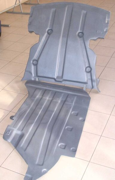 BMW 3 E90/E91 ( 2005 - 2010 ) ( 2 parts ) motora aizsargs
