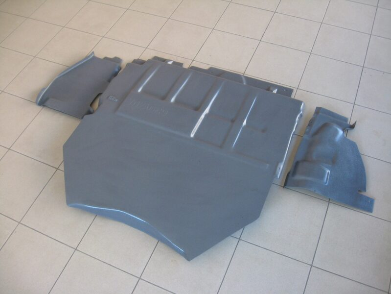 Chrysler Town & Country IV ( 2004 - 2007 ) restyle ( 3 parts ) motora aizsargs