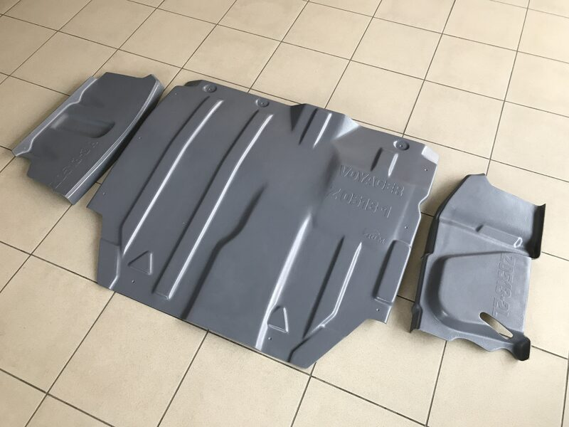 Chrysler Town & Country V ( 2007 - 2010 ) ( 3 parts ) motora aizsargs