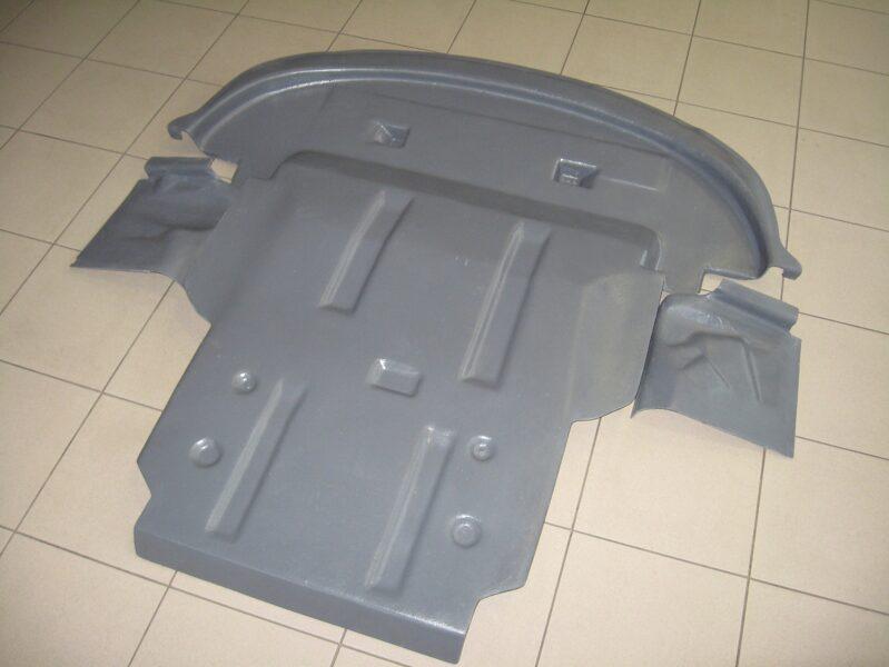 Dodge Journey I ( 2007 - 2011 ) ( 3 parts ) motora aizsargs