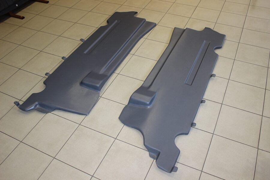Fiat 500X ( 2014 - 2018 ) ( 2 parts L/R ) apakšas aizsargi