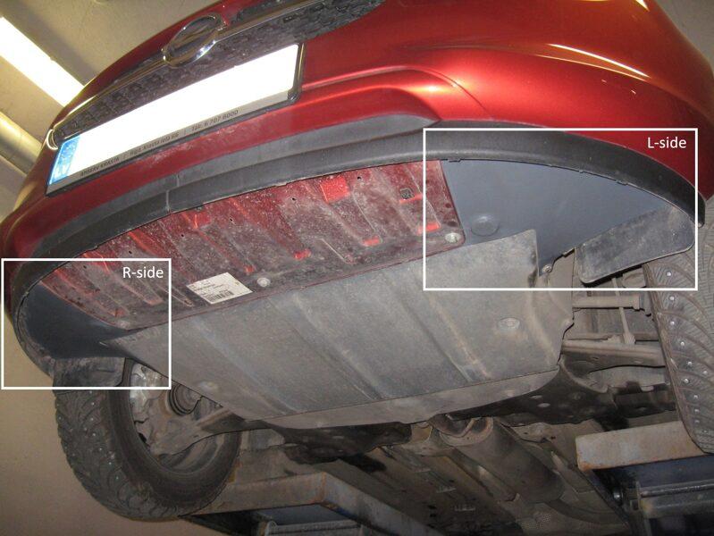 Opel Adam I ( 2013 - ... ) ( 2 parts ) putekļu aizsargi