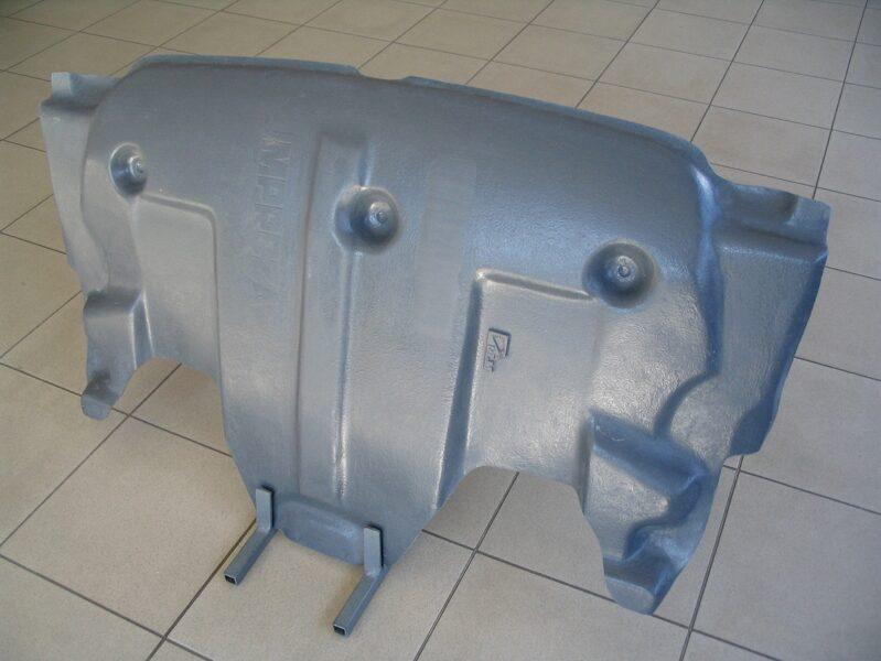 Subaru Impreza II ( 2005 - 2007 ) restyle II motora aizsargs